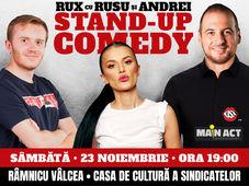 Ramnicu Valcea: Stand-up Comedy RUX cu Rusu si Andrei