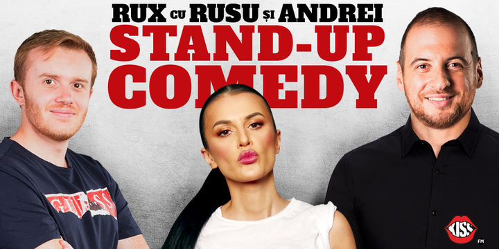 Dej: Stand-up Comedy RUX cu Rusu si Andrei