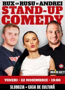 Slobozia: Stand-up Comedy RUX cu Rusu si Andrei
