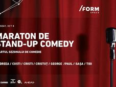 Maraton de Stand-Up Comedy at /FORM SPACE