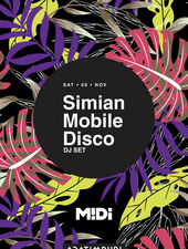 Anotimpuri pres. Simian Mobile Disco DJ-set at Midi