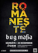 Cluj-Napoca: B.U.G Mafia at /FORM SPACE