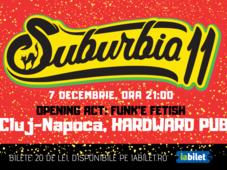 Concert Suburbia11   Cluj-Napoca, Hardward Pub