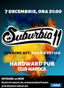 Concert Suburbia11 | Cluj-Napoca, Hardward Pub