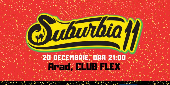 Concert Suburbia11 | Arad, Club Flex