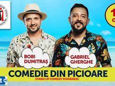 Stand up Comedy la Mioveni cu Bobi Dumitraș și Gabriel Gherghe