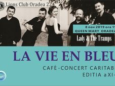 La vie en bleu Cafe-concert Lady &The Tramps