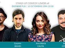Stand Up Comedy x4  @Old Mike Pub