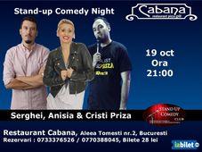 Stand Up Comedy cu Anisia Gafton, Serghei & Cristi Priza