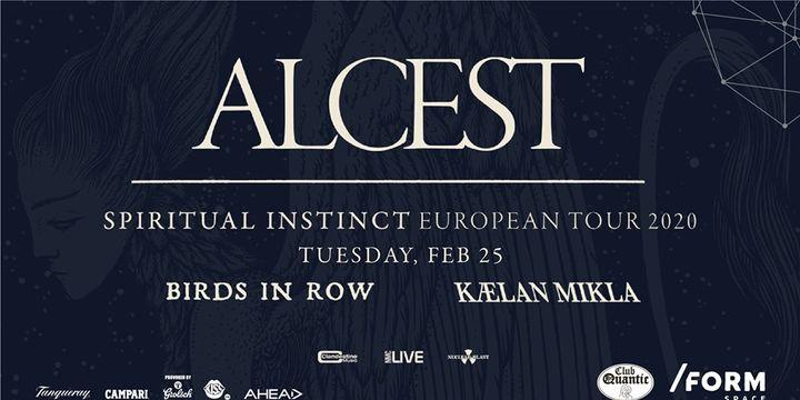 ALCEST / Spiritual Instinct Tour at Quantic
