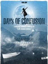 """Days of Confusion - lansare """"LIA"""" (Rămâi Cumva) / Expirat / 20.11"""