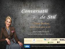 """""""Conversatii de Stil"""" cu Gina Butiuc - atelier de imagine si stil"""