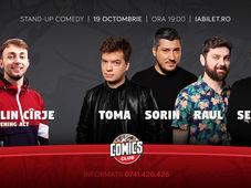 Stand-up cu Toma, Sorin, Raul și Sergiu