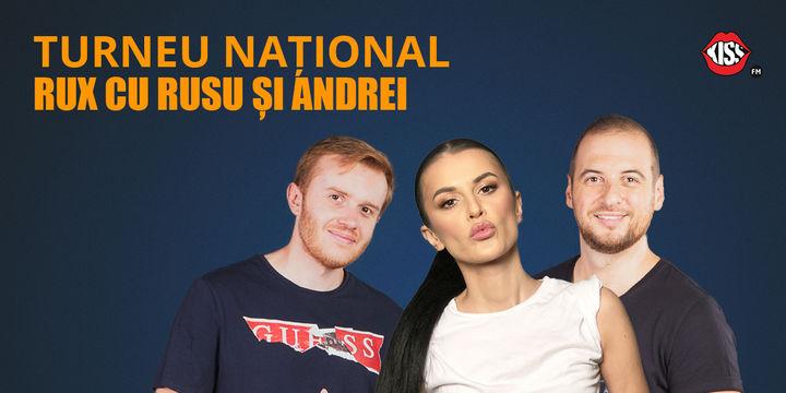 """Cluj-Napoca: Turneul National """"RUX cu Rusu si Andrei"""""""