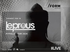Leprous / Pitfalls Tour at /FORM SPACE