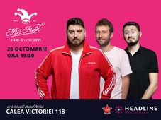 The Fool: Stand-up comedy cu Micutzu, Radu Isac și Claudiu