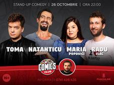 Stand-Up cu Toma, Natanticu, Maria și Isac la ComicsClub