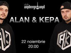 Alan & Kepa live in Underground