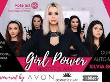 Girl Power Mastercalass - Curs de Auto-Machiaj cu Silvia Gordan