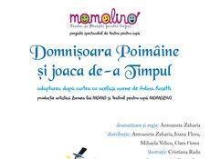 Momolino: Domnișoara Poimăine și Joaca de-a timpul -  spectacol muzical pentru copii