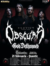 Concert Obscura si God Dethroned la Quantic