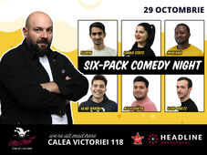 The Fool: Six-Pack comedy night cu Toni, Ioana State, Florin și Mukinka