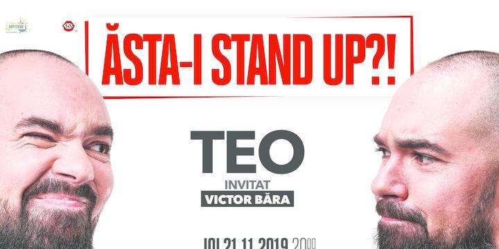 """Mangalia: """"Ăsta-i stand up?!"""" Teo – Invitat: Victor Băra"""