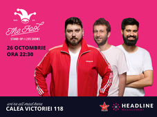 The Fool: Stand-up comedy cu Micutzu, Radu Isac și Geo