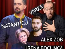 Iasi: Spectacol Extraordinar 4(FOR) Stand-up Comedy