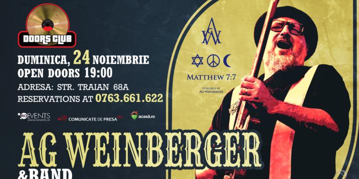 Concert extraordinar AG Weinberger Band | Club Doors | Constanta