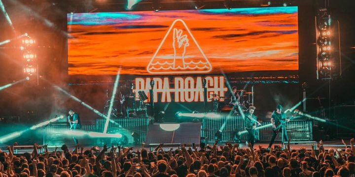 Concert Papa Roach si Hollywood Undead