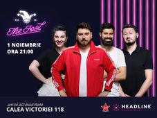 Stand-up comedy cu Micutzu, Claudiu, Geo și Teodora