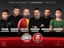 Stand-Up cu Cristi, Sorin, Sergiu, Toma, Mitran & Mirică la ComicsClub