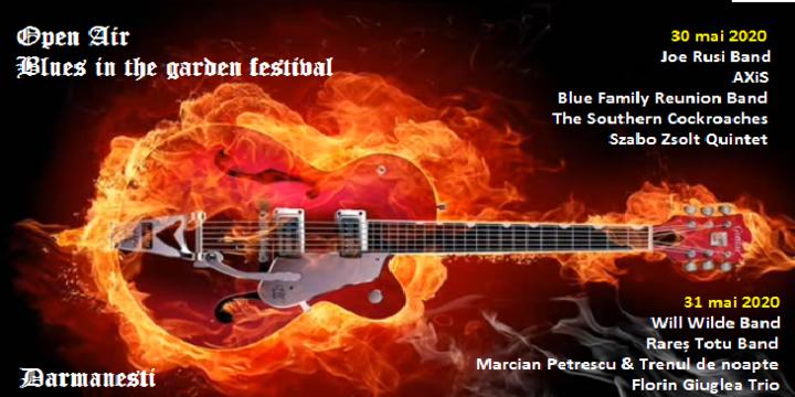 Blues in the Garden Festival