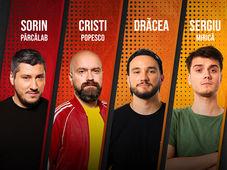 Stand Up Comedy in Buzău cu Sorin Pârcălab, Cristi Popesco, Mirică și Dracea