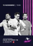 The Fool: Stand-up comedy cu Bobonete, Natanticu și Mihai Rait