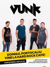VUNK - Domnul Portocaliu vine la Hard Rock Cafe