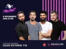 The Fool: Stand-up comedy cu Bucălae, Sorin, Natanticu și Geo