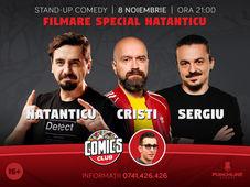 Filmare Special Natanticu! Invitati: Sergiu si Cristi, la ComicsClub