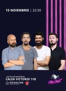 The Fool: Stand-up comedy cu Natanticu, Popescu, Geo și Claudiu
