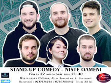 Stand-up comedy night cu NISTE OAMENI