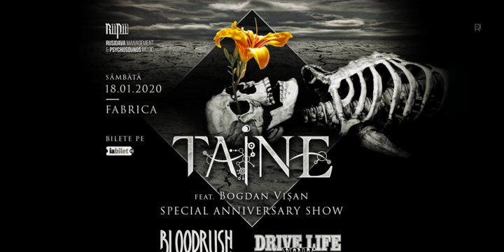 Taine (special anniversary show), Bloodrush, Drive Your Life