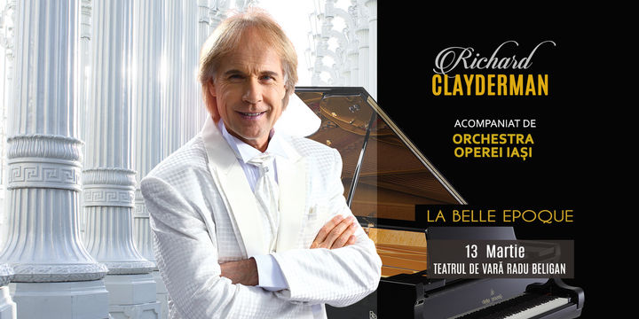 Bacău: Concert Richard Clayderman