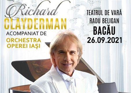 Bacău: Concert Richard Clayderman
