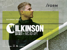 Wilkinson DJ SET ft. MC Ad-Apt at /FORM Space