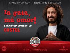 Costel, One Man Show la ComicsClub!