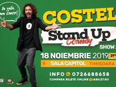 """Ia gata, ma omor!"" Costel – Invitat Alex Mocanu - Timișoara - Show 2"