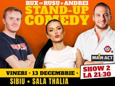 Sibiu: Stand-up Comedy RUX cu Rusu si Andrei - Show 2