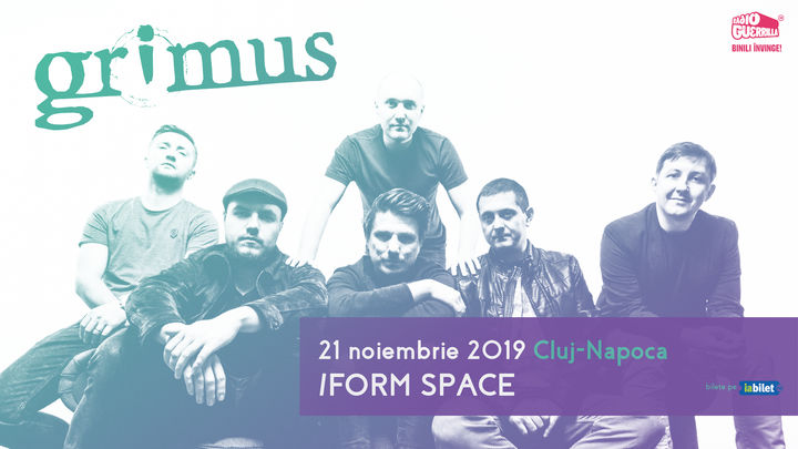 Grimus - 21 noiembrie @ /Form Space, Cluj
