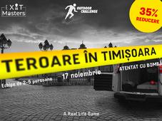 Teroare în Timișoara